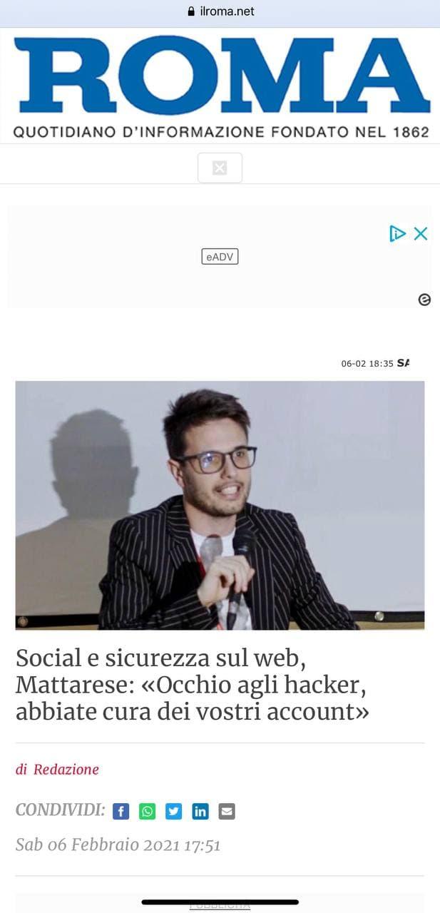 ilroma.net Alessio Mattarese